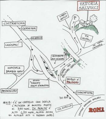 Mappa Fattoria Salvucci